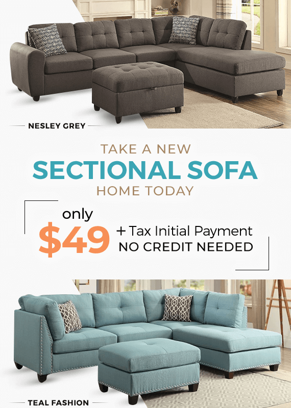 sectional sofas financing
